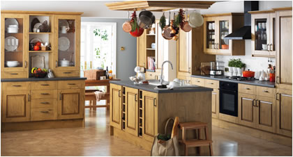 FITTED KITCHENS<br />BESPOKE SOLID WOOD